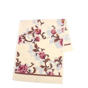 フェイラー ハンドタオル 37cm×80cm Legacy Bloom クリーム FEILER|daily-3