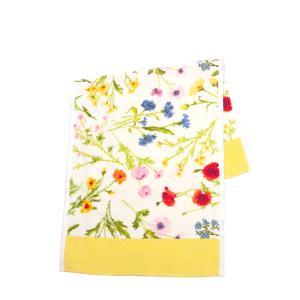フェイラー ハンドタオル 37cm×80cm Flower Meadow ・イエロー|daily-3