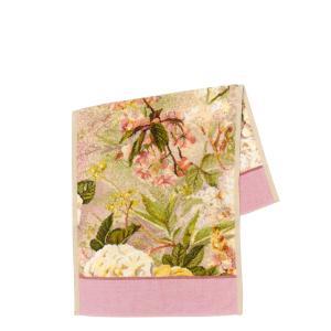 フェイラー FEILER ハンドタオル 37cm×80cm シークレットガーデン・ダスティピンク|daily-3