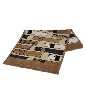 フェイラー フェイスタオル FEILER ハンドタオル 37cm×80cm ドッグ・サファリ|daily-3