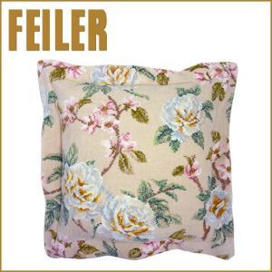 フェイラー クッションカバー バニラローズ Pillow Case Vanilla Rose FEILER|daily-3