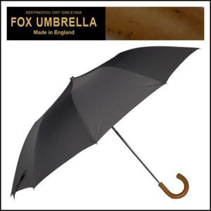 フォックスアンブレラズ 折りたたみ傘 TEL3 マラッカクルックハンドル ブラック|daily-3