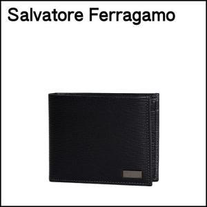 フェラガモ 二つ折り財布 小銭入れ付 メンズ REVIVAL 667070 選べるカラー|daily-3