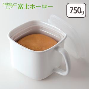 富士ホーロー 角型みそポット 市販の味噌パックがピッタリ入る|daily-3