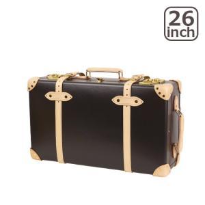 グローブトロッター サファリ 26インチ EXTRA DEEP TROLLEY CASE スーツケース2輪 COFFEE BROWN & NATURAL|daily-3