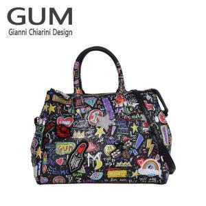 ジャンニキャリーニ 2WAY ショルダーハンドバッグ GUM Gianni Chiarini Design BS 1740T・18AI GUM STREET ブラック|daily-3