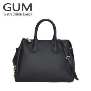 ジャンニキャリーニ 2WAY ショルダーハンドバッグ GUM Gianni Chiarini Design BS 1900T・18AI GUM GOLD ブラック|daily-3