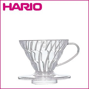 HARIO(ハリオ)V60 透過ドリッパー 01 クリア(樹脂)2杯用 VD-01T|daily-3