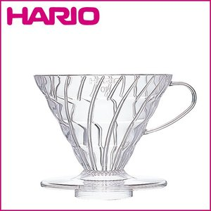 HARIO(ハリオ)V60 透過ドリッパー 02 クリア(樹脂)4杯用 VD-02T|daily-3