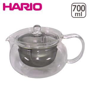 HARIO(ハリオ)茶々急須 丸 700ml CHJMN-45T ガラス製急須 ティーポット|daily-3
