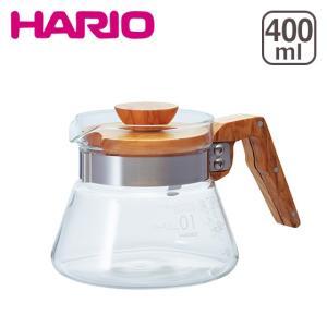HARIO(ハリオ)コーヒーサーバー 400 VCWN-40-OV オリーブウッド 400ml|daily-3