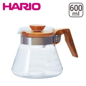 HARIO(ハリオ)コーヒーサーバー 600 VCWN-60-OV オリーブウッド 600ml|daily-3