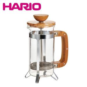 HARIO(ハリオ)カフェプレス・ウッド CPSW-2-OV 300ml(2杯用)|daily-3