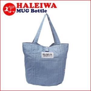HALEIWA ハレイワ デニムトートバッグ ラージ ブルー|daily-3