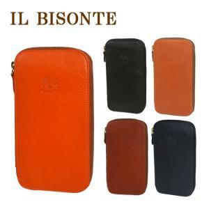 IL BISONTE イルビゾンテ 財布 長財布 C0442 ラウンドファスナー メンズ レディース  選べるカラー|daily-3