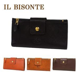 IL BISONTE イルビゾンテ 財布 長財布 C0688 コイン入れ付 メンズ レディース  選べるカラー|daily-3