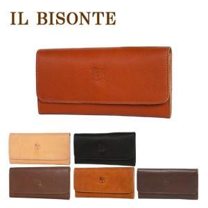 IL BISONTE イルビゾンテ 財布 長財布 C0775 三つ折り メンズ レディース  選べる3カラー|daily-3