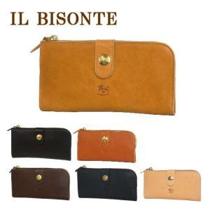 IL BISONTE イルビゾンテ C0782 L字型ジップ長財布 選べるカラー|daily-3