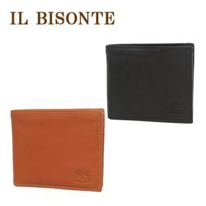 IL BISONTE(イルビゾンテ)C0817P 小銭入れ付二つ折り財布 選べるカラー|daily-3