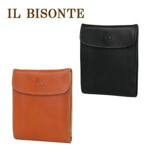 IL BISONTE(イルビゾンテ)C0976P 小銭入れ付二つ折り財布 三つ折り 選べるカラー|daily-3