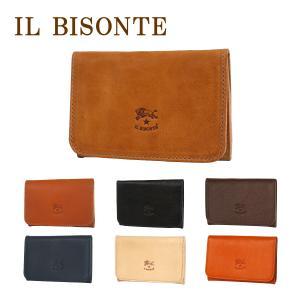IL BISONTE(イルビゾンテ)C470P カードケース(名刺入れ) 選べるカラー|daily-3