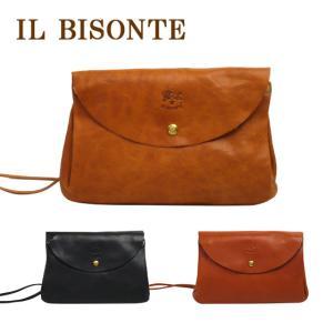 IL BISONTE(イルビゾンテ)A2358 ショルダーバッグ 選べるカラー ななめ掛け ポシェット|daily-3