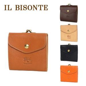 IL BISONTE イルビゾンテ C0421 小銭入れ付二つ折り財布 選べるカラー|daily-3