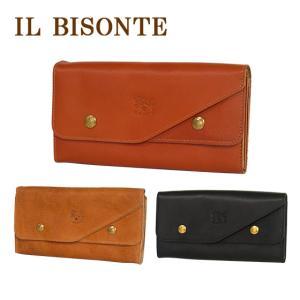 IL BISONTE イルビゾンテ 長財布 二つ折り C0881 ファスナー コイン入れ付 メンズ レディース 選べるカラー daily-3