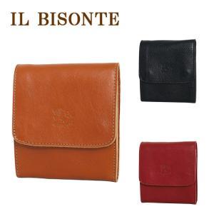 IL BISONTE イルビゾンテ C0984 二つ折り財布 小銭入れ付 選べるカラー|daily-3