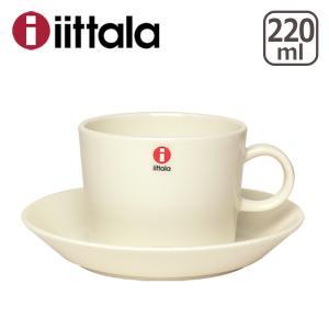 ☆イッタラ  ティーマ コーヒーカップ&ソーサーセット ホワイト|daily-3