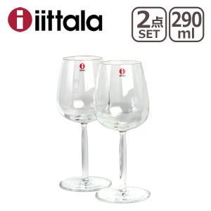イッタラ Senta(センタ)ホワイトワイン 290ml クリア 2個セット|daily-3