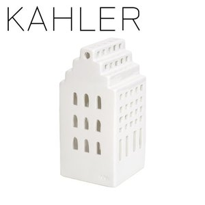 ケーラー アーバニア キャンドルホルダー ティーライトハウス 18151 マナー H170 KAHLER Urbania tea light house Manor|daily-3