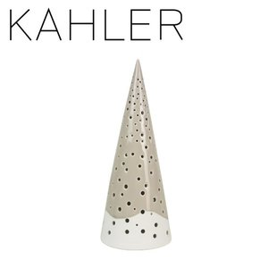ケーラー ノビリ キャンドルホルダー ツリー H255 KAHLER Nobili tea light holder H255 warm grey 692459 KAHLER|daily-3