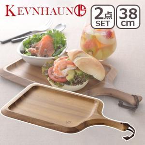 ケヴンハウン スクエアカッティングボード&ランチトレイ 166 2枚セット KEVNHAUN|daily-3