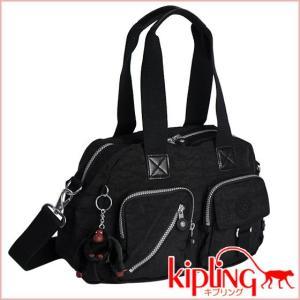 キプリング ショルダーミニボストンバッグ DEFEA K13636 ブラック|daily-3