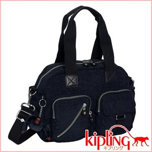 キプリング ショルダーミニボストンバッグ DEFEA K13636 トゥルーブルー|daily-3