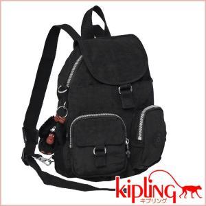 キプリング KIPLING☆リュックサック/ショルダーバッグ FIREFLY N K13108 ブラック|daily-3