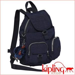 キプリング KIPLING☆リュックサック/ショルダーバッグ FIREFLY N K13108 トゥルーブルー|daily-3