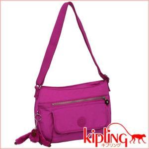 キプリング ショルダーバッグ SYRO K13163 ピンクオーキッド|daily-3