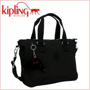 キプリング ショルダーバッグ AMIEL 15371 2WAY ブラック|daily-3