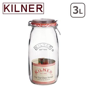 キルナー ラウンドクリップトップジャー 3L KILNER|daily-3