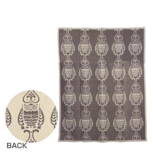 クリッパン コットンブランケット 140x180 Owl サンド|daily-3