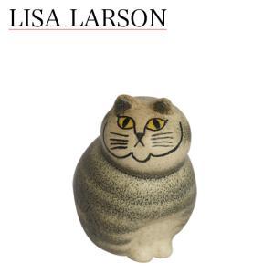 リサ・ラーソン キャットミア ミニ(小) グレー Lisa Larson 1150102 daily-3