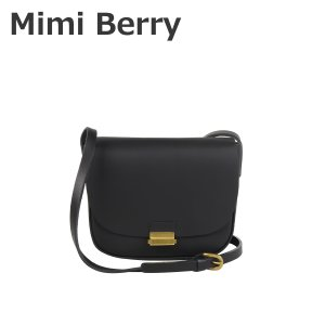 Mimi Berry ミミベリー Remy レザー ショルダーバッグ Black|daily-3