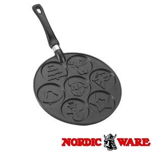 ノルディックウエア オシャレなケーキ型 クリスマスホリデーパンケーキパン Nordic Ware|daily-3