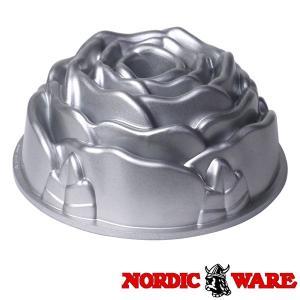 ノルディックウエア オシャレなケーキ型 ローズパン Nordic Ware|daily-3