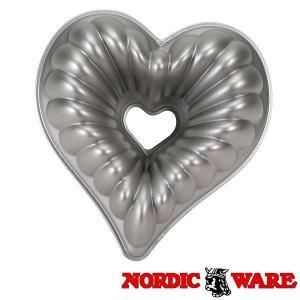 ノルディックウエア オシャレなケーキ型 エレガントハートパン Nordic Ware|daily-3