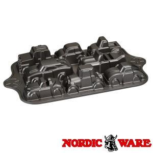 ノルディックウエア ワクワク車のケーキ型 シートライズクラシックカーズパン Nordic Ware|daily-3