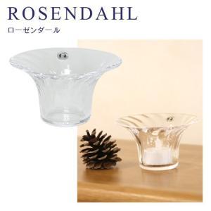 キャンドルホルダー ガラス ローゼンダール フィリグラン オプティカル 38066 コペンハーゲン Rosendahl|daily-3