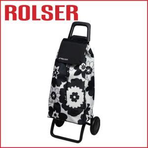 ロルサー MOUNTAIN FLOR ショッピングカート2輪 59L Blanco・Negro|daily-3